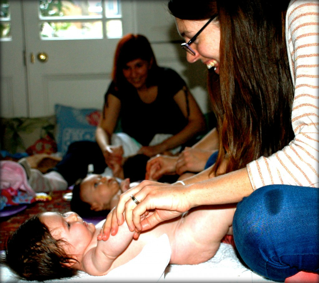 Baby Massage Classes, West Hampstead, Muswell Hill