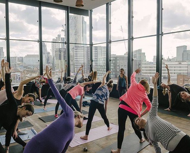 Pregnancy yoga with quite a view! Lead by the fabuloushellip