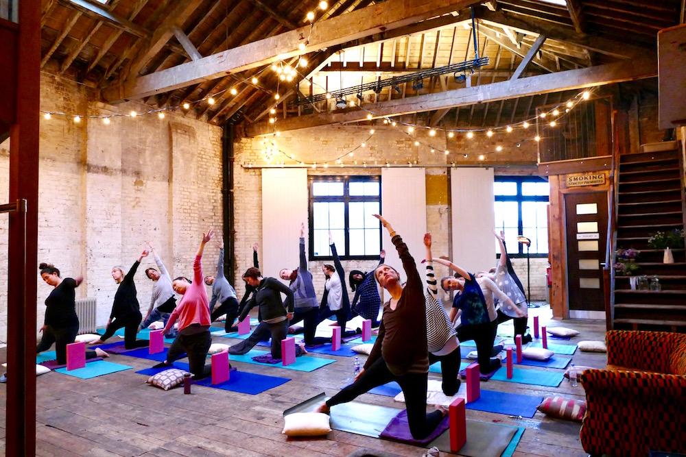pregnancy yoga south london