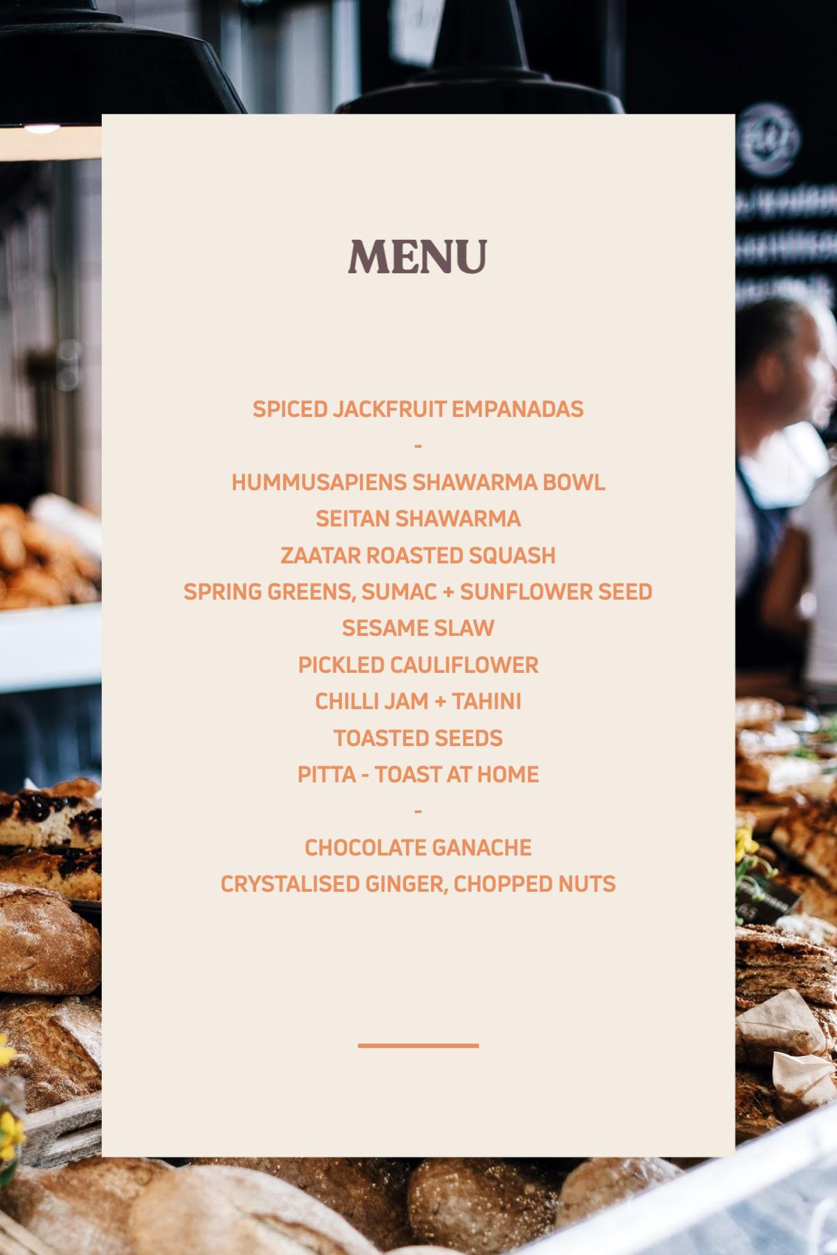 southville menu
